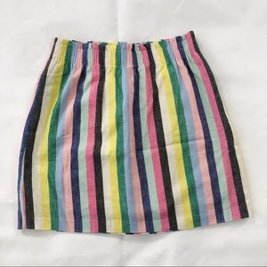 New J. Crew Factory Stripped Skirt Size 4